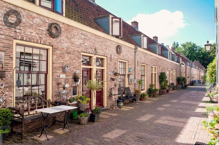 Nebenstraße in Utrecht