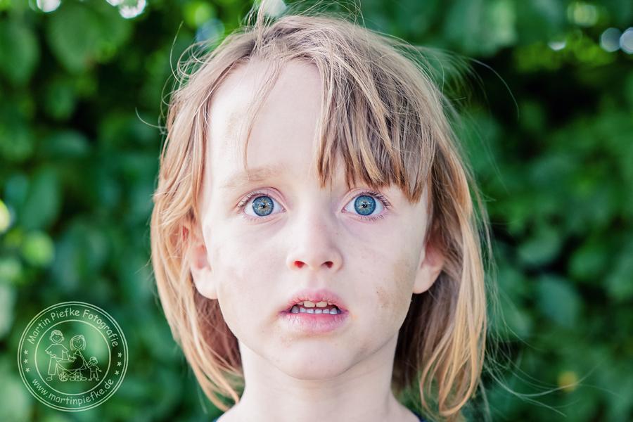 Dreckspatz, Kindergarten, Sankt Augustin, schmutziges Gesicht