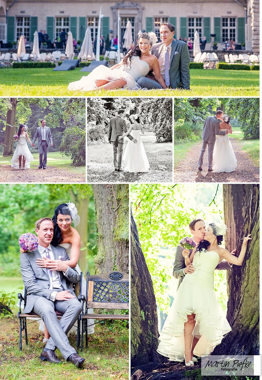 Hochzeit Schloss auf Kartzow Brandenburg, Paarshooting im angrenzenden Park