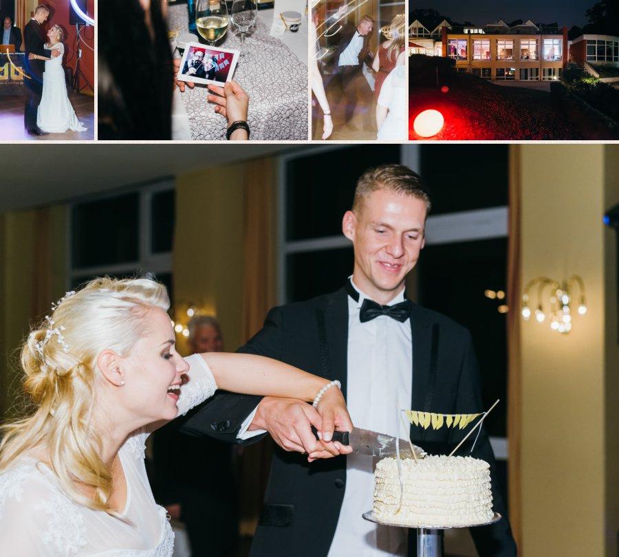 Anschneiden des Kuchen, Tanzfotos und Photobooth/Fotobox, Aufnahme des Dämeritzseehotels