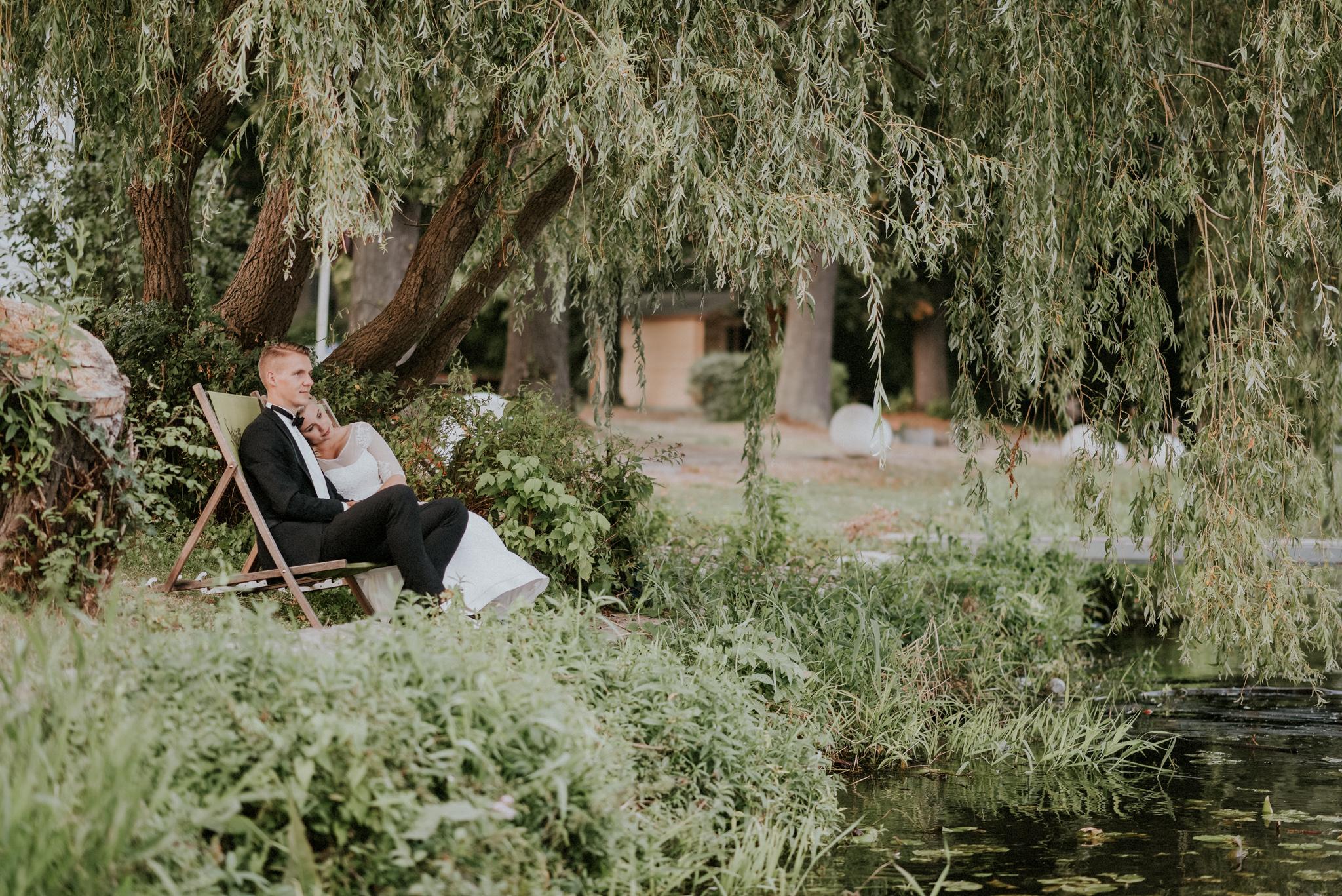 Hochzeit, Paarshooting Dämeritzsee