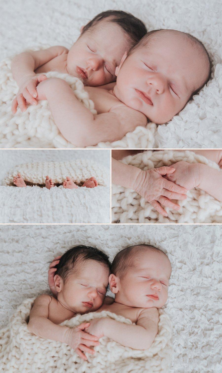 Neugeborenenfotos von Tim und Sara aus Berlin.
